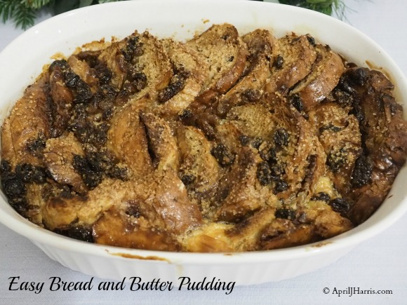 Easy-Bread-Butter-Pudding