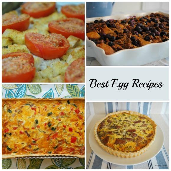 Best Egg Recipes on AprilJHarris.com