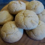 Old-Fashioned Lemon Ginger Crinkle Cookies