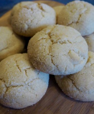 Lemon-Ginger-Crinkle-Cookies