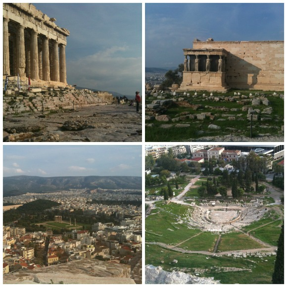 Views of Athens, The Flavor of Modern Greece