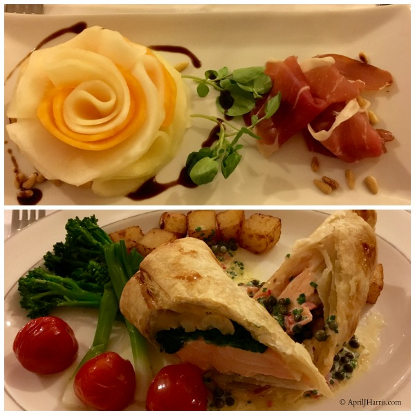 Food at our Best Anniversary Ever and ideas for your own best anniversary celebrations on http://www.apriljharris.com