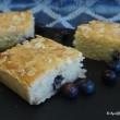 Lemon and Blueberry Bakewell Tart Squares