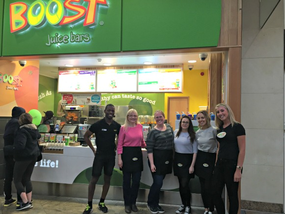 Bloggers at the Boost Juice Bars Event
