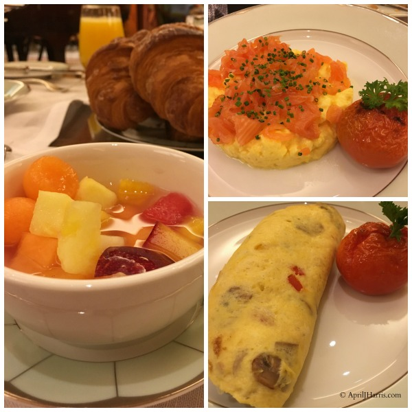 Breakfast at The Dorchester