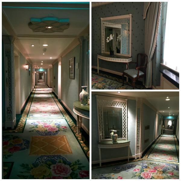 Hallways in The Dorchester