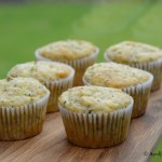 Zucchini Lemon and Chia Seed Muffins Recipe