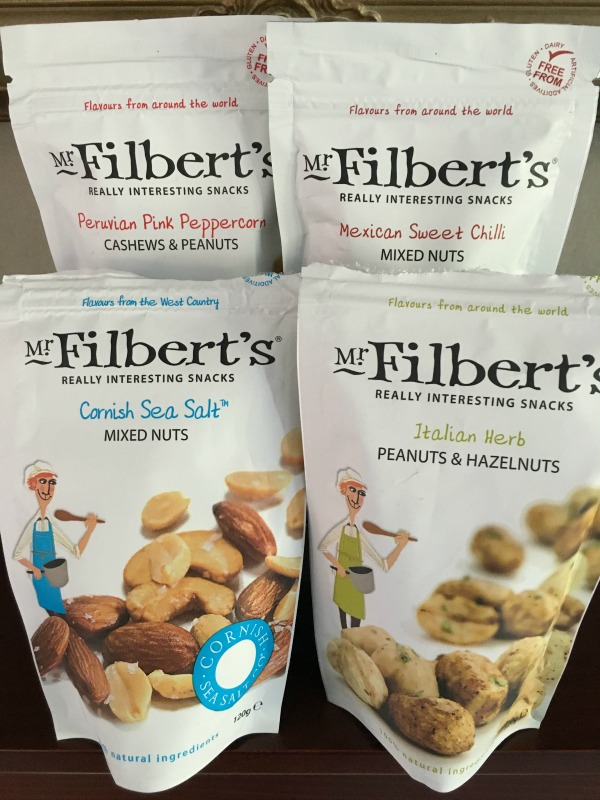 Foodie Discoveries - Mr Filberts Really Interesting Snacks on AprilJHarris.com