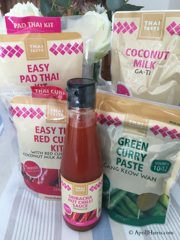 Thai Taste Products - some of my new Foodie Discoveries