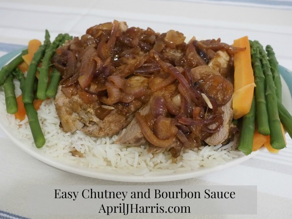 Easy Chutney and Bourbon Sauce
