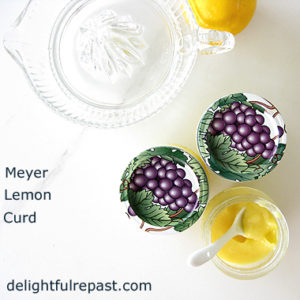 Meyer Lemon Curd Featured at The Hearth and Soul Hop