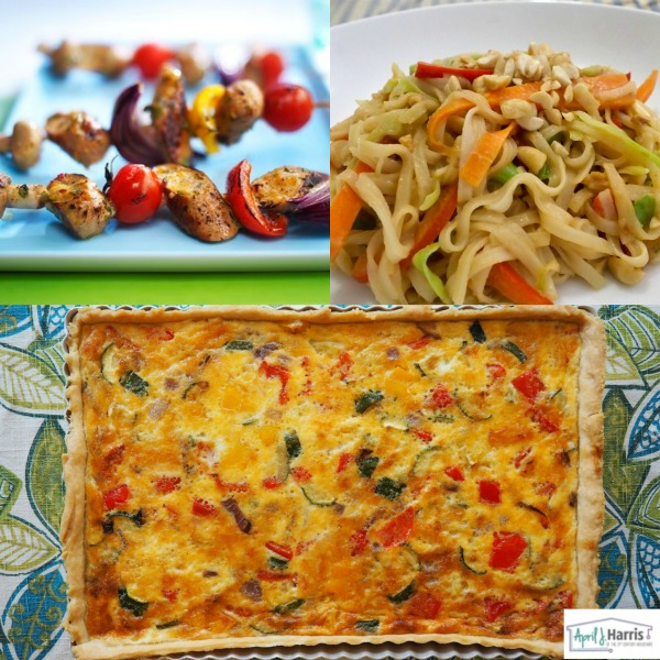 Vegetarian Recipes for NVW (Lunch)