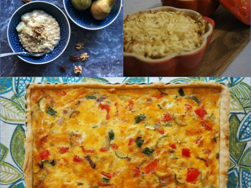 A collection of Easy Vegetarian Recipes perfect for all the family!