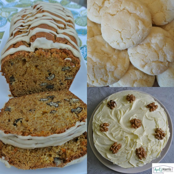Vegetarian Recipes for NVW Desserts