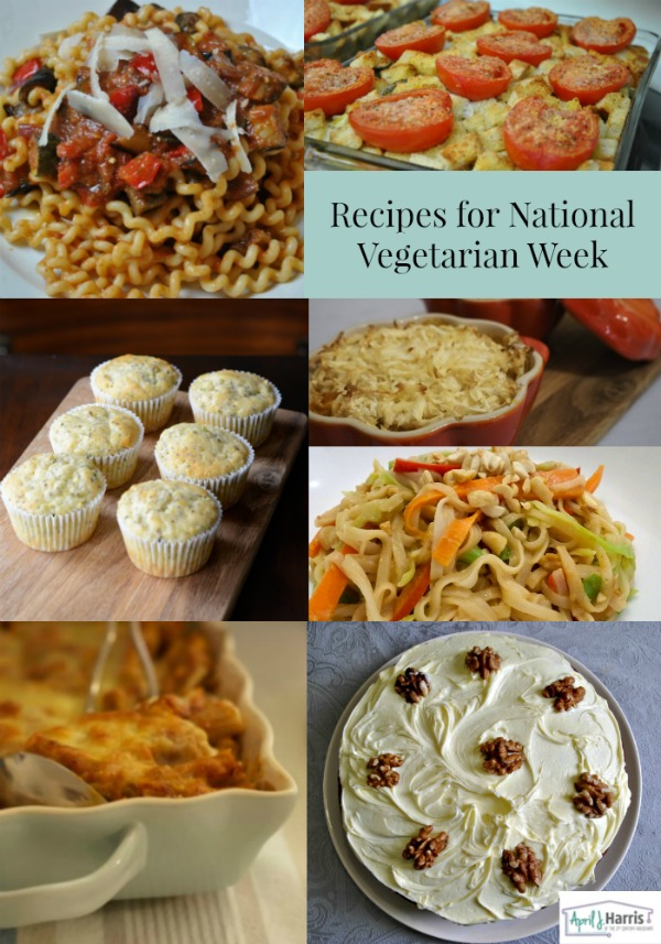 Vegetarian Recipes for National Vegetarian Week