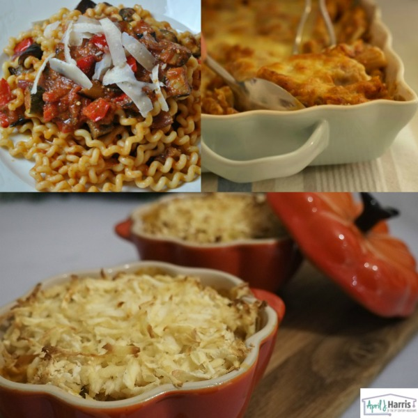 Vegetarian Recipes for NVW Suppers