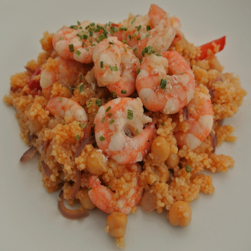 My Moroccan Shrimp and Couscous recipe makes a quick, easy, warmly spiced meal the whole family will love. The work of moments, it's perfect for entertaining.