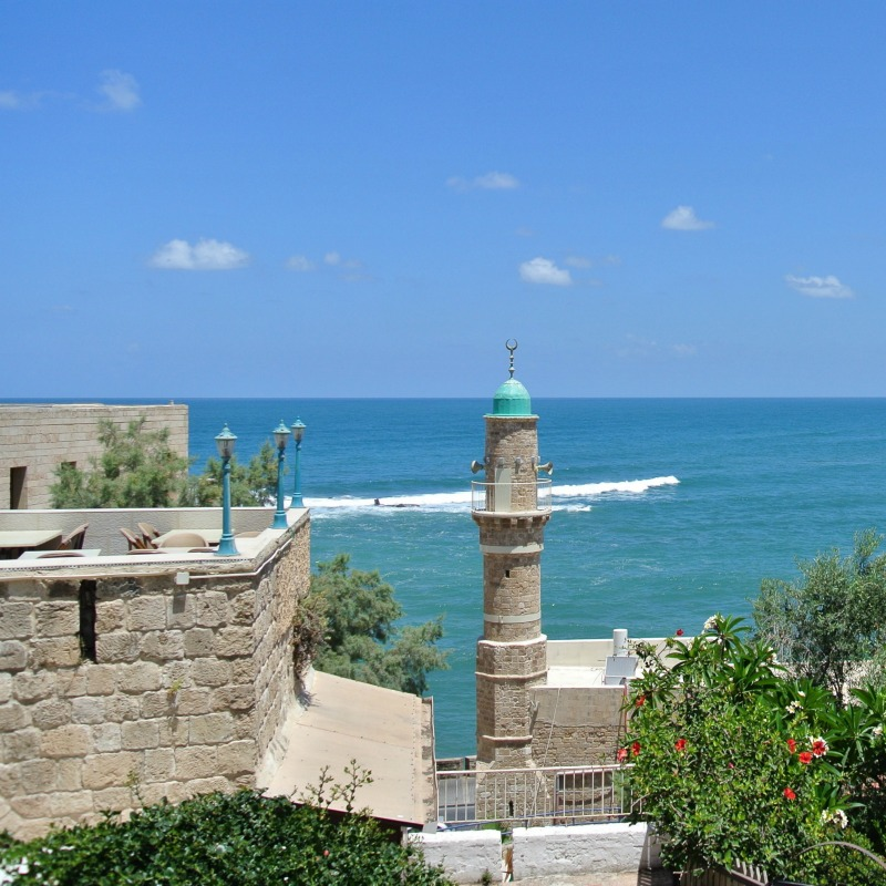 Step back in time in Jaffa, a port in the southern part of Tel Aviv with an incredibly rich history. It is a real gateway to the ancient world!
