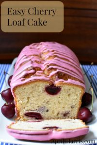 Moist, tender and delicious, my Cherry Loaf Cake recipe is also very easy to make