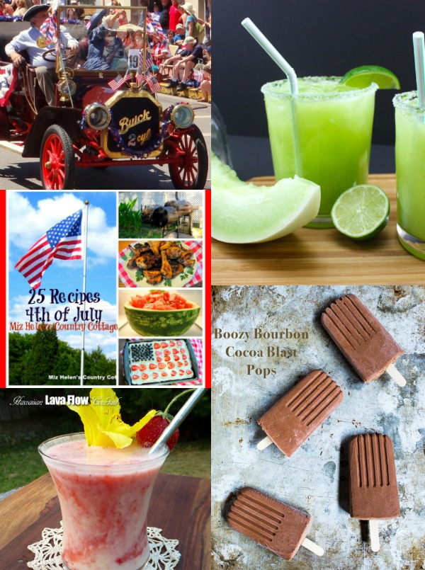 Featured Summer Celebrations Posts at The Hearth and Soul Hop July 4 - 9 - all family friendly posts are welcome