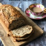 Old-Fashioned Banana Nut Bread enriched with the goodness of bran, just like my late Mom used to make