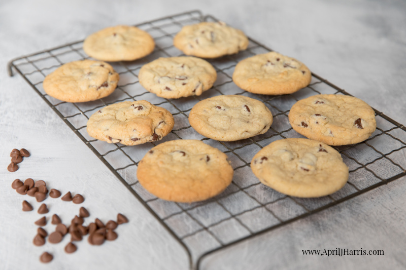 Old-Fashioned Chocolate Chip Cookies