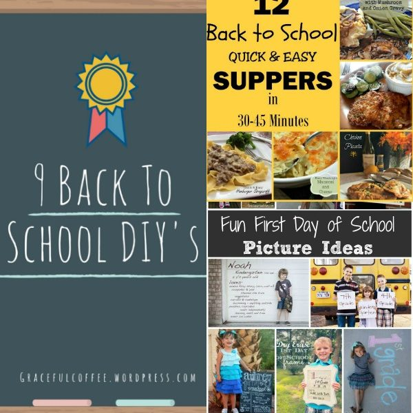 Back to School Ideas and Recipes from the Hearth and Soul Hop