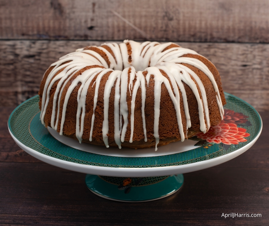 My easy to make, warmly spiced Apple Pecan Cake with Maple Glaze is the perfect cake to have on hand for an everyday treat.