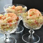 You will love this Shrimp and Crab Appetizer Salad recipe. Fresh, light and wholesome, it's perfect for entertaining, and it couldn't be easier to make.