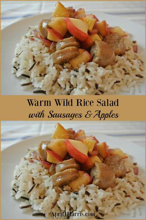Easy to make, warming and flavourful, my delicious Warm Wild Rice Salad with Sausages and Apples is a recipe the whole family will love.