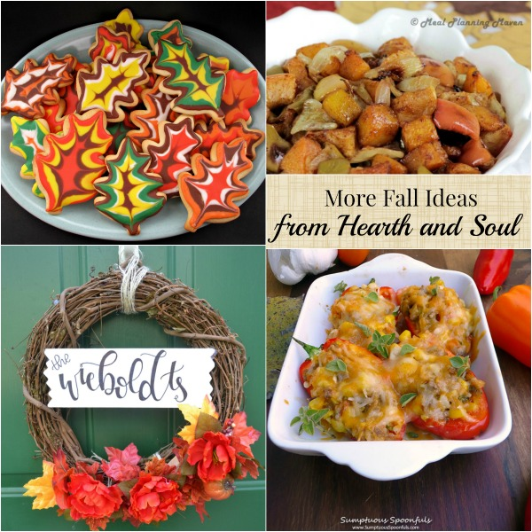 Fall Ideas at The Hearth and Soul Link Party