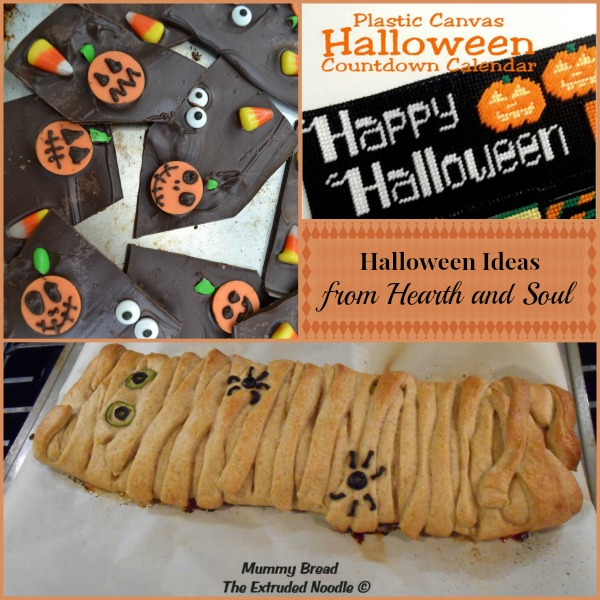 Halloween Ideas from the Hearth and Soul Link Party - please join us with your family friendly posts!