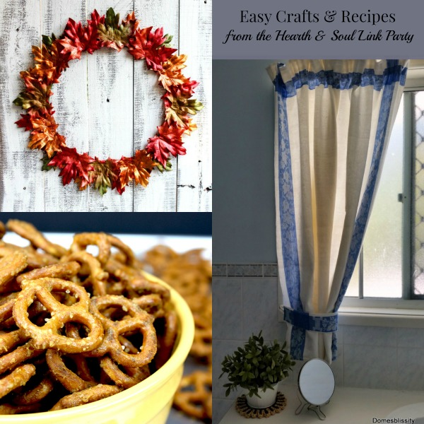 Easy Crafts & Recipe Features from Hearth and Soul