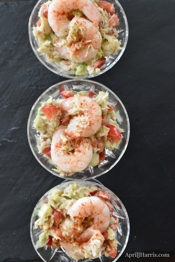 Easy to make, versatile Shrimp and Crab Appetizer Salad Recipe