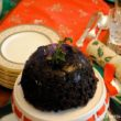 Old Fashioned Christmas Pudding , a traditional British Christmas dessert