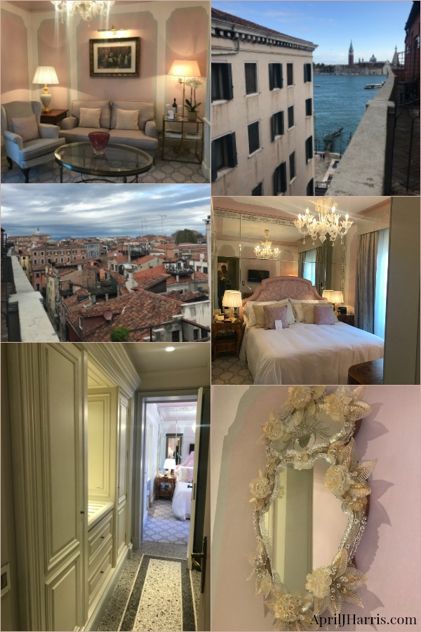 A suite at The Hotel Danieli, the place to stay in Venice.