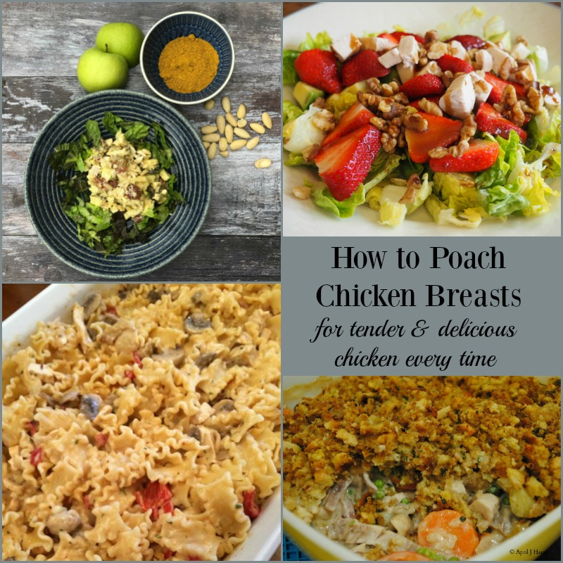 How To Poach Chicken Breasts Step By Step