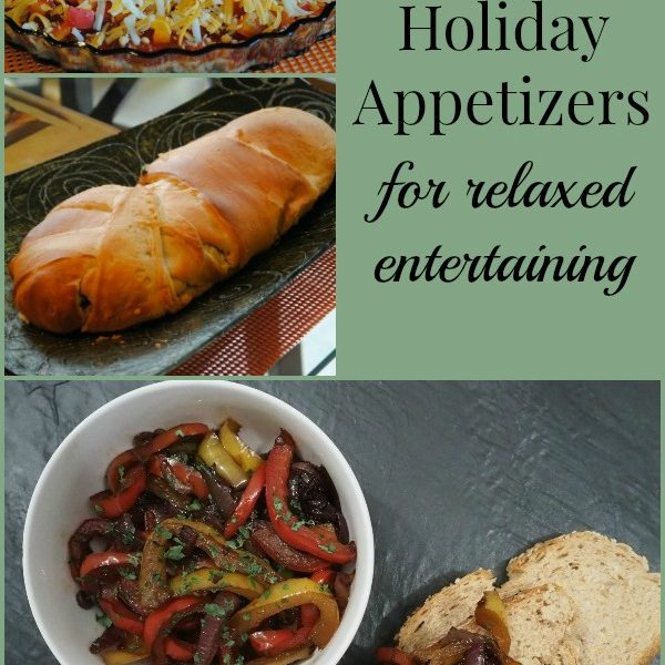 Easy Holiday Appetizers for Relaxed Entertaining