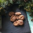 Orange Gingerbread Crinkle Cookies - a warmly spiced, soft yet chewy cookie with a delicious orange hit