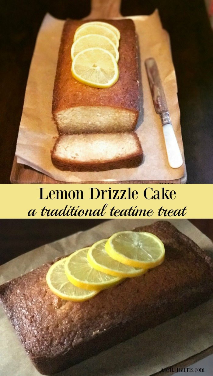 How to make Lemon Drizzle Cake, a traditional British teatime treat, with an easy variation using the flavours in the Royal Wedding Cake being made for HRH Prince Harry and Meghan Markle