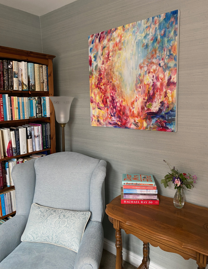 Use artwork and paintings to decorate your home