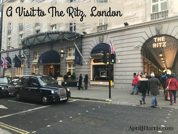 Visiting The Ritz, one of London's most iconic hotels