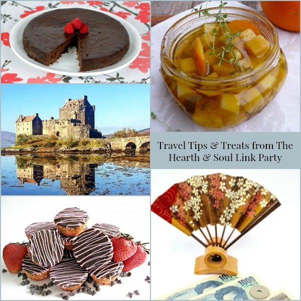 Travel Tips and Treats from Hearth and Soul. Please join us and share your family friendly posts!