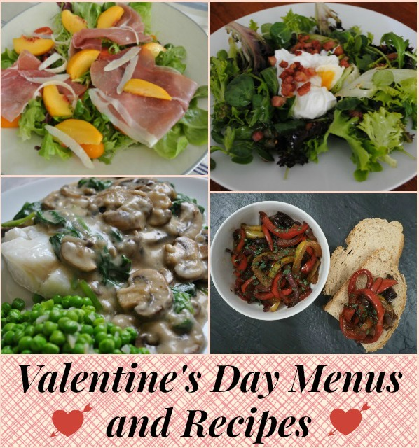 Valentines Day Menus and Recipes at the Hearth and Soul Link Party where we welcome all family friendly posts