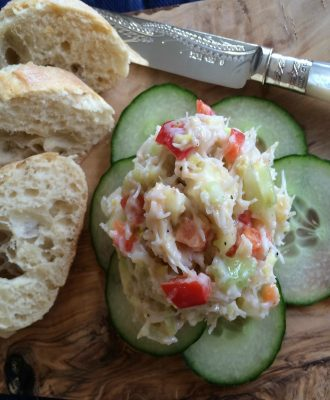 My Easy Crab Pate is a go-to starter or appetizer, an easy summer lunch, the perfect canapé topper and a great entertaining all rounder.