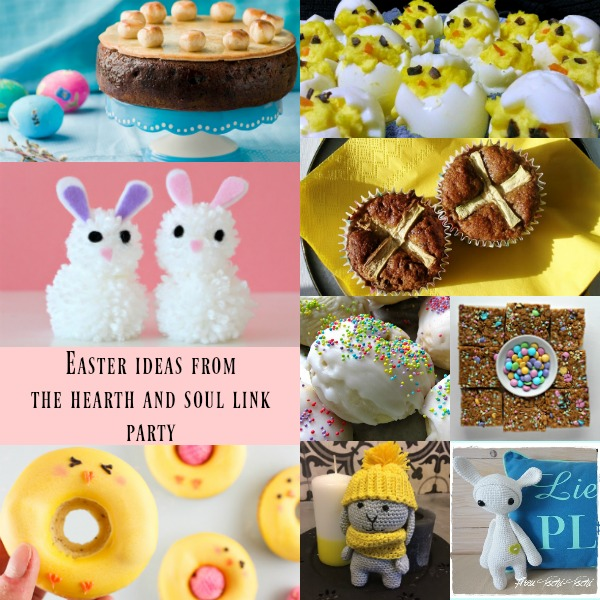 Easter Ideas from The Hearth & Soul Link Party where we invite you to share posts about anything that feeds your soul