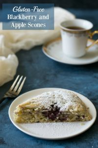 Do you love blackberries as much as I do? I'm super excited aboutthisGluten Free Blackberry and Apple Scone recipe for a good few reasons - and my love of blackberries is just one of them.