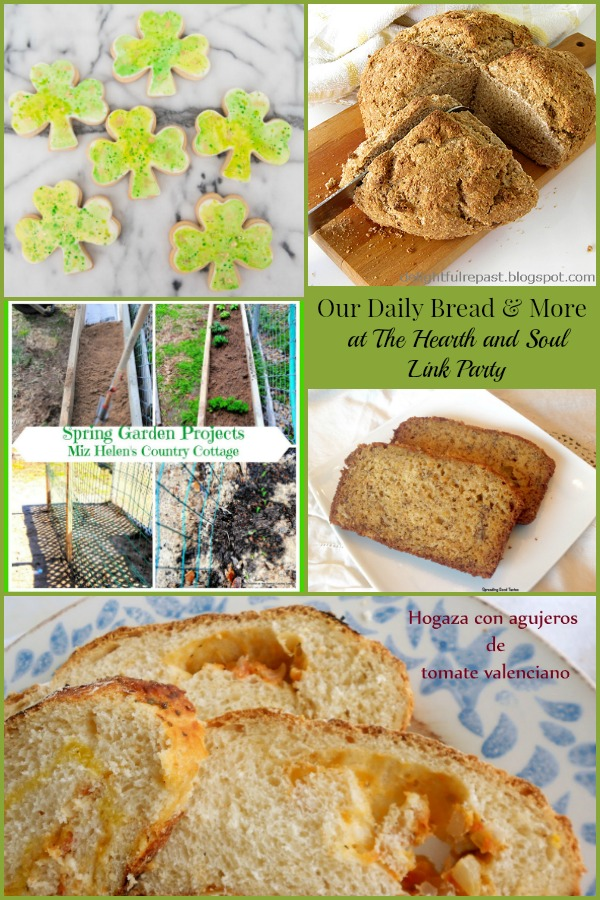 The Hearth and Soul Link Party featuring Our Daily Bread and More
