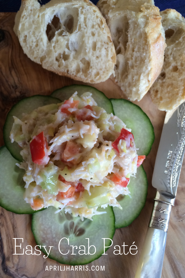 My Easy Crab Pate is a go-to starter or appetizer, an easy lunch, the perfect canapé topper and a great entertaining all rounder.