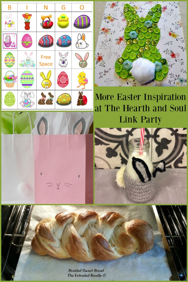 Easter Inspiration from the Hearth and Soul Link Party - Join us and share blog posts about anything that feeds your soul